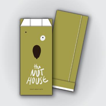 Χαρτοσακούλες αλουμινίου the nut house