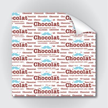 Φύλλο περιτυλίγματος βέζεταλ Chocolat